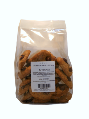 Biscotti Africani alle nocciole 350 Gr.