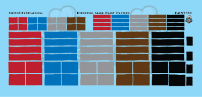 Reporting Mark Paint Patch Set S Scale