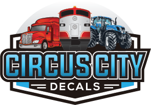 Circus City Decals