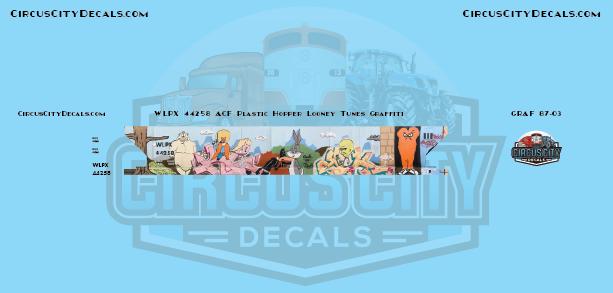 Looney Tunes Graffiti WLPX 44258 HO Scale