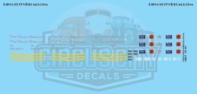 The Texas Special MKT KATY Frisco E7 2000 101 101A O Scale Decal Set