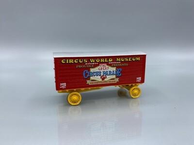Circus World Museum #209 Wardrobe Wagon Circus Wagon Kit HO Scale