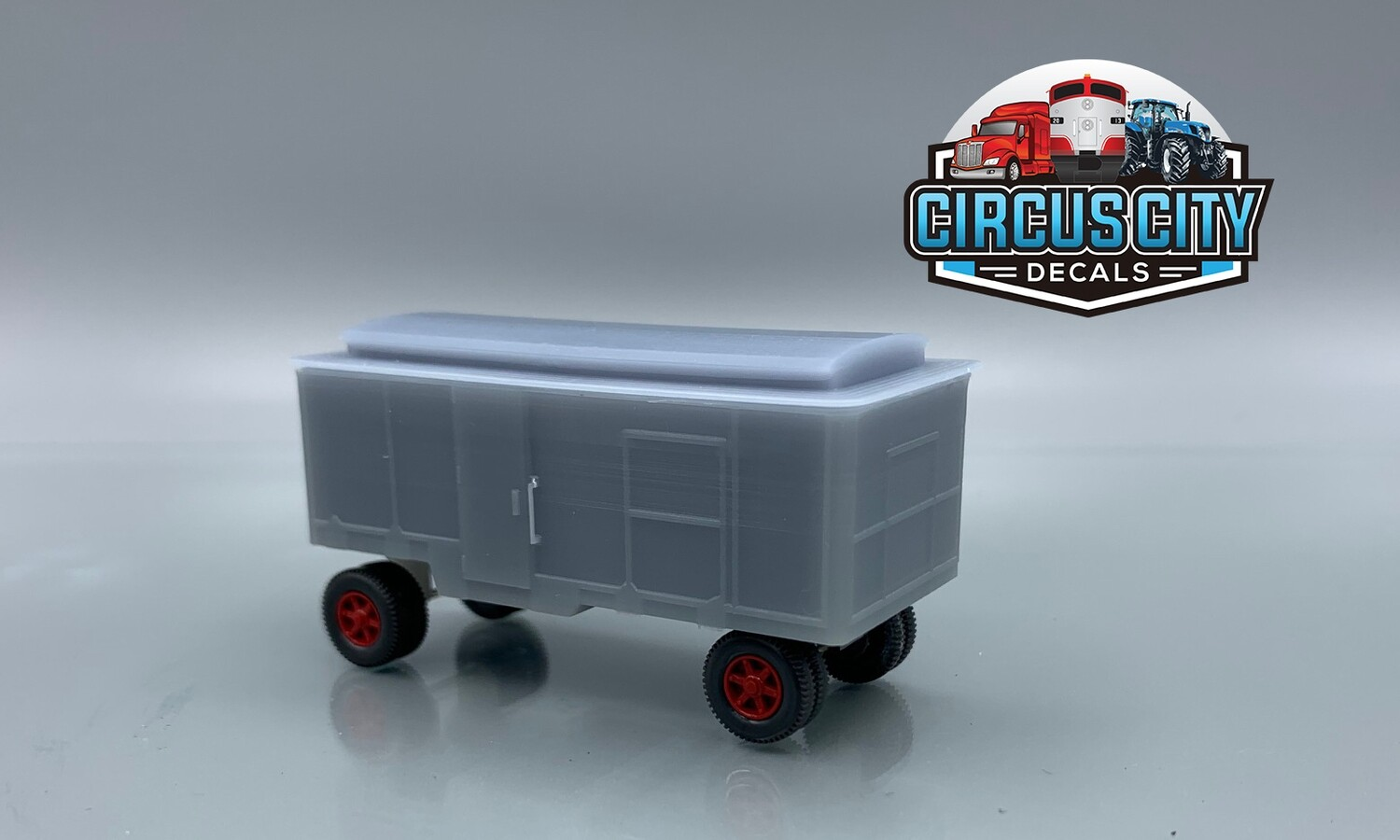 Ringling Brothers Barnum Bailey Circus #123 Ticket Wagon Kit HO Scale