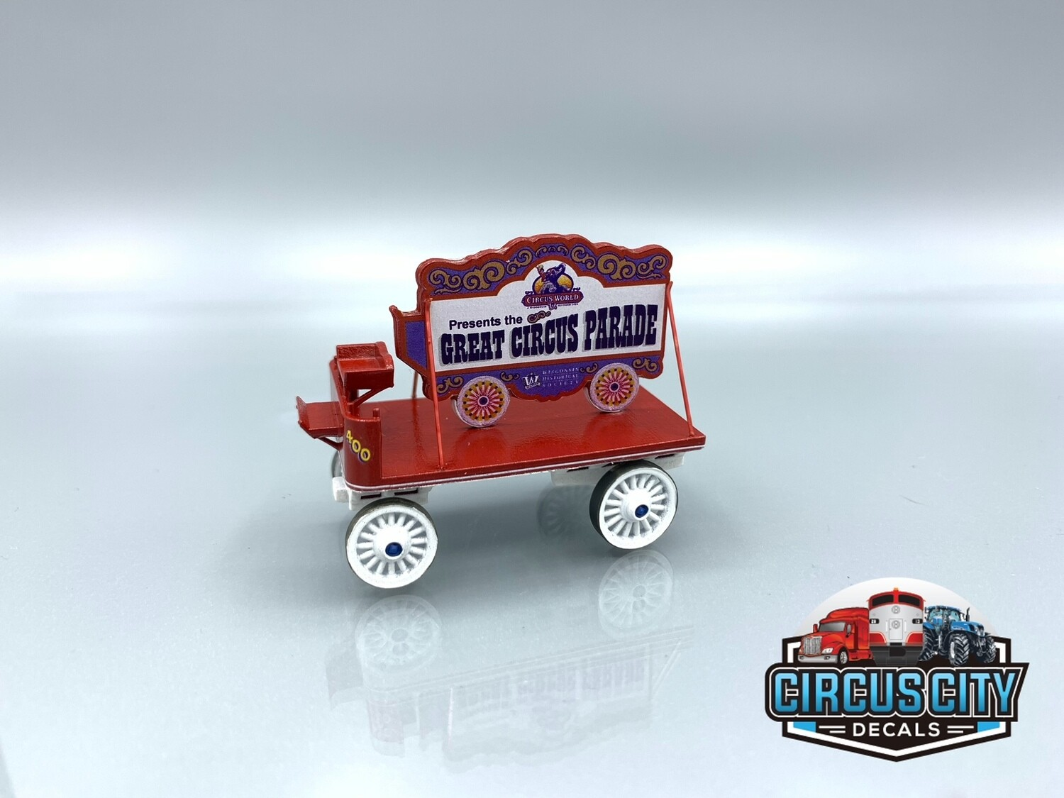 Circus World Museum #400 Opening Welcome Wagon Kit HO Scale