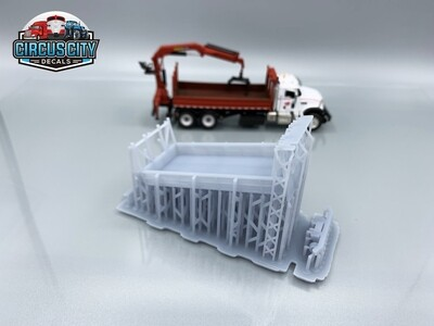 MOW Super Truck Bed Hi-Rail HO Scale Kit