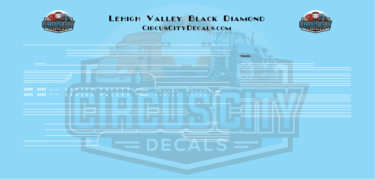 Lehigh Valley Black Diamond N Scale