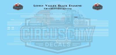 Lehigh Valley Black Diamond N Scale