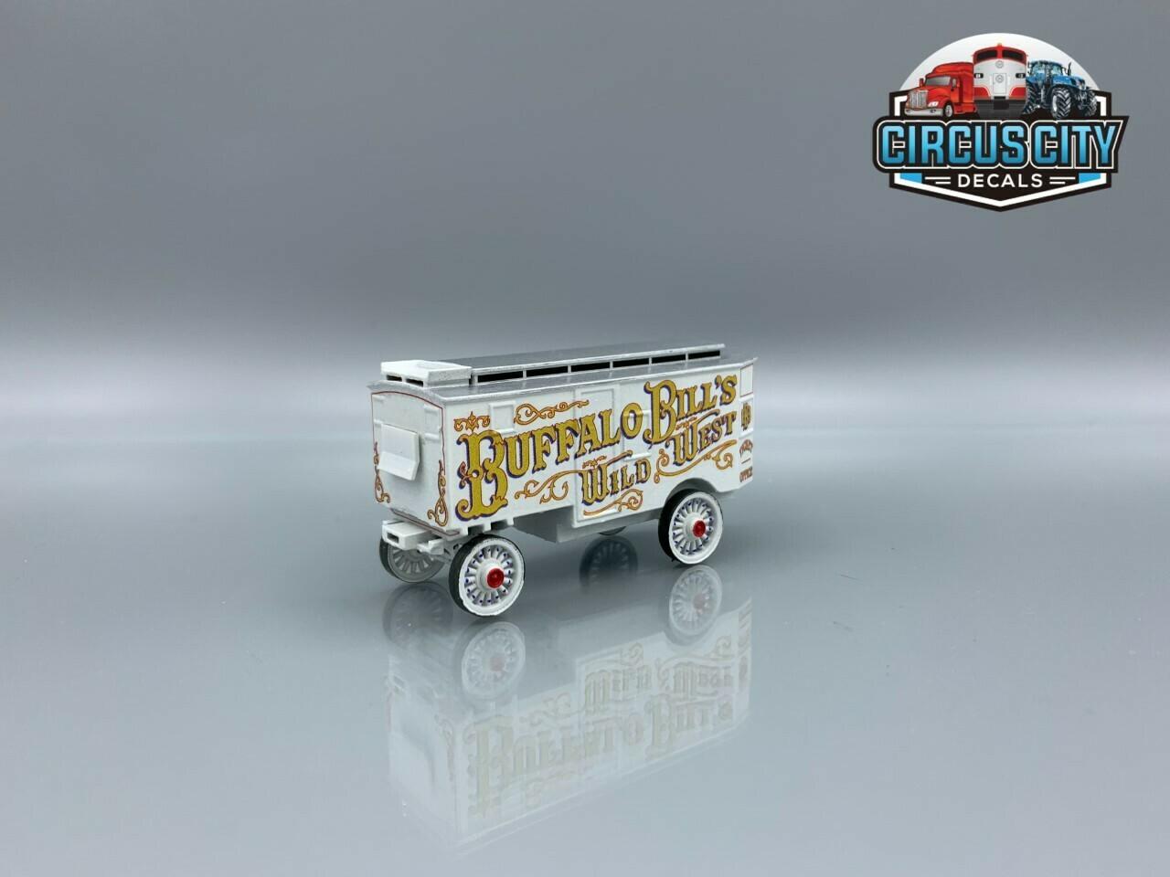 Buffalo Bills Wild West Ticket Wagon Kit HO Scale Circus