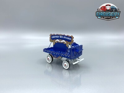 United We Stand Parade Wagon Kit O Scale Circus