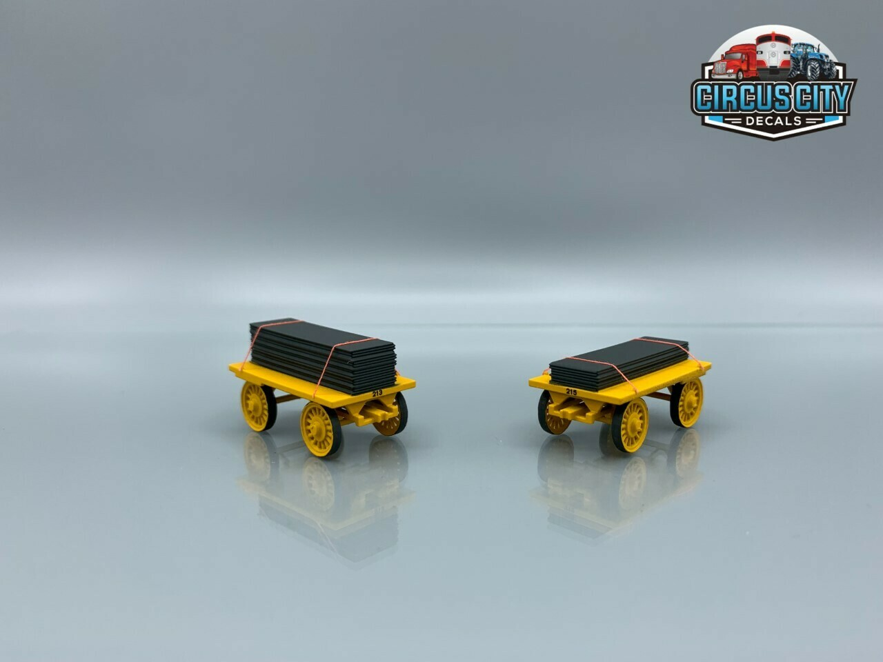 Mat Wagon Kit HO Scale Circus (Qty 2)