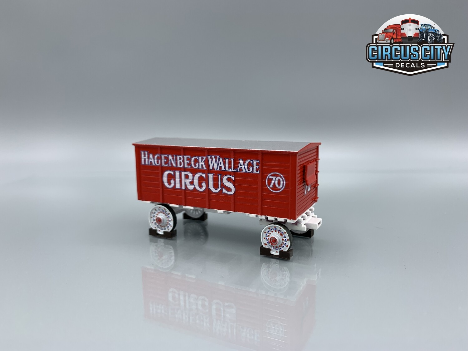 Hagenbeck Wallace Circus Wagon #70 Kit HO Scale