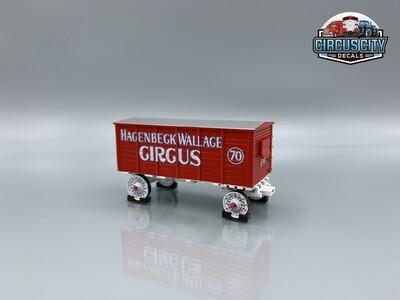 Hagenbeck Wallace Circus Wagon #70 Kit O Scale