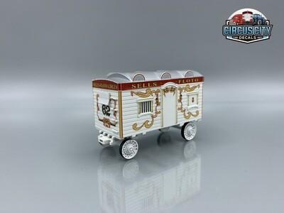 Sells-Floto Circus #62/Benzini Ticket Wagon Kit O Scale