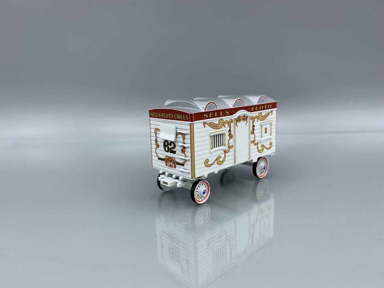 Sells-Floto Circus #62 HO Scale Wagon Built Up Model