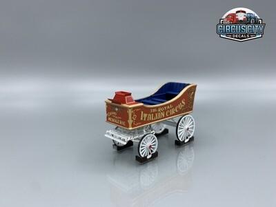 Royal Italian Circus Wagon Kit HO Scale
