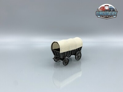 Covered Wagon Wild West Circus Built-Up HO Scale