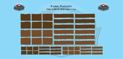 Reporting Mark Paint Patch Set Brown O Scale