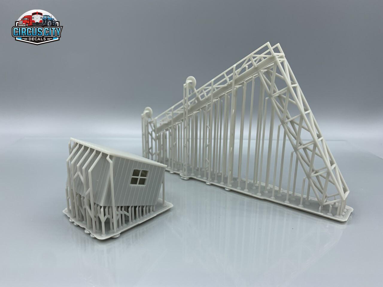 LS&I Style Signal Bridge Double Track HO Scale