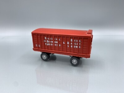 Ringling Brothers & Barnum Bailey #60 Wagon Built-Up HO Scale