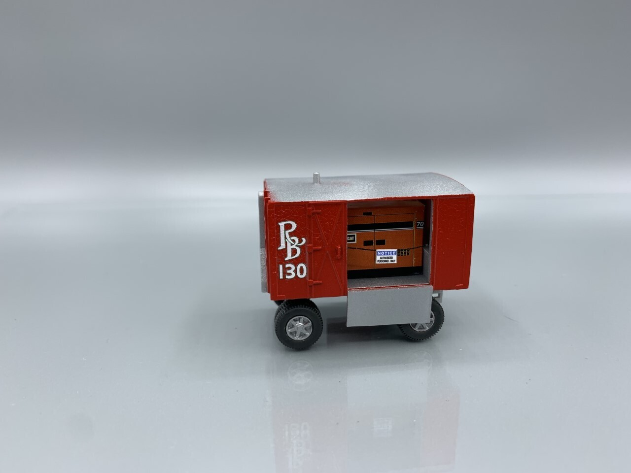 Ringling Brothers #130 Generator Wagon Built-Up HO Scale