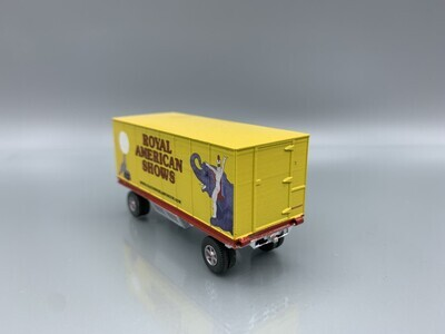Royal American Shows #141 Wagon Built-Up HO Scale
