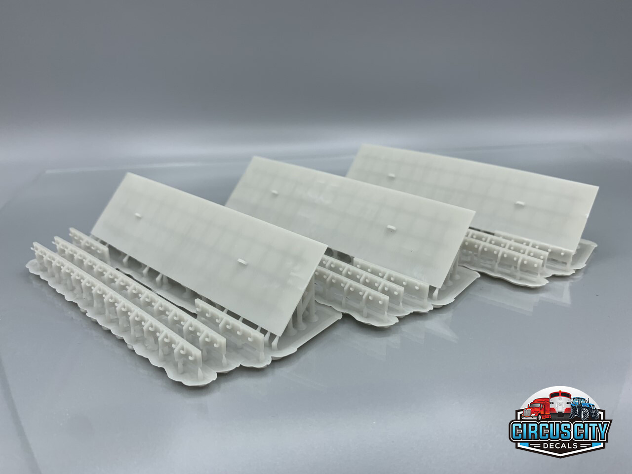 Great Lakes Ore Boat Hatch Covers with Sides HO 1:87 Scale