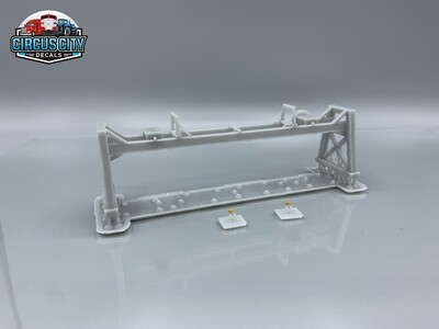 Great Lakes Ore Boat Hatch Crane 3d Printed HO 1:87 Scale