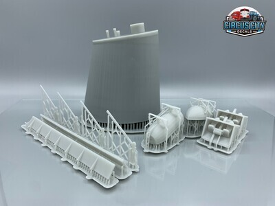 Great Lakes Ore Boat Stack & Parts HO 1:87 Scale