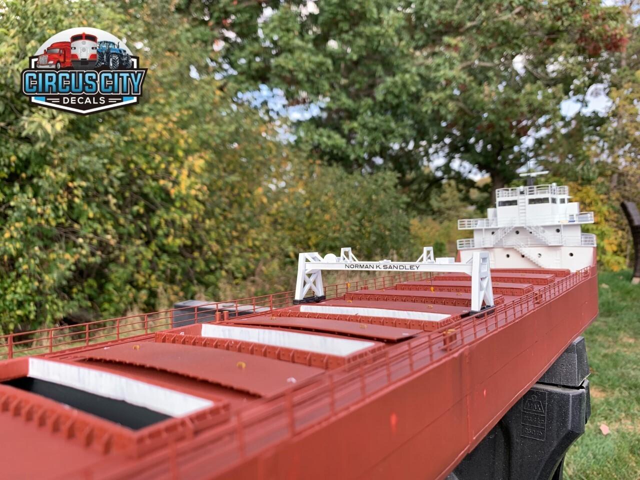 Great Lakes Ore Boat Railings HO 1:87 Scale