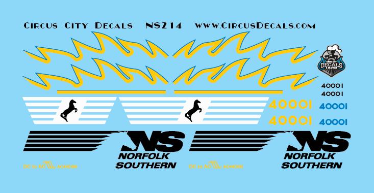 Norfolk Southern AC44C6M Rebuild 4000 4001 Set N Scale