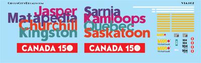 VIA Canada 150 P42 N Scale 904