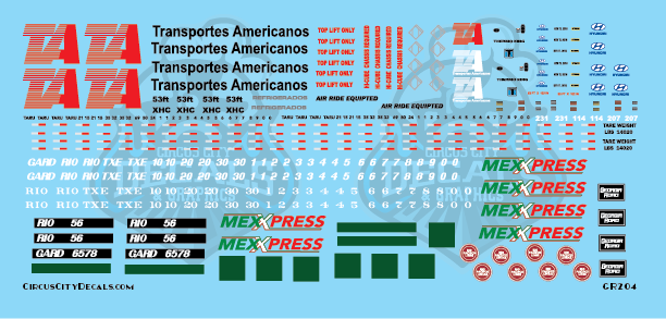 Transportes Americanos Trailers and Containers