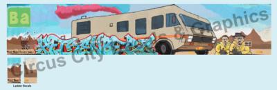 Breaking Bad Graffiti SP 691694 HO Scale Exactrail PC&F 62'