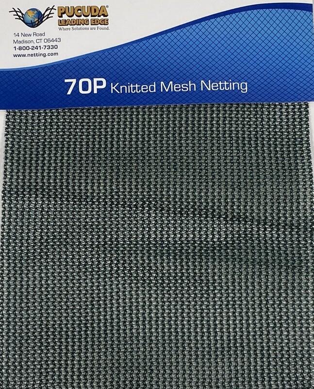 70P Knitted Mesh Netting