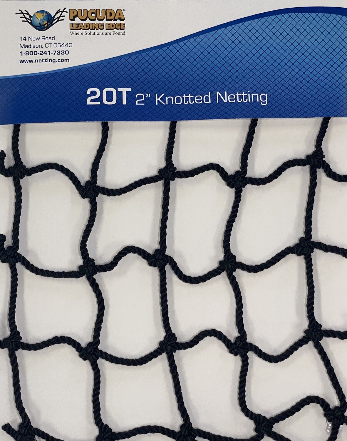 """20T 2"""" Knotted Netting"""