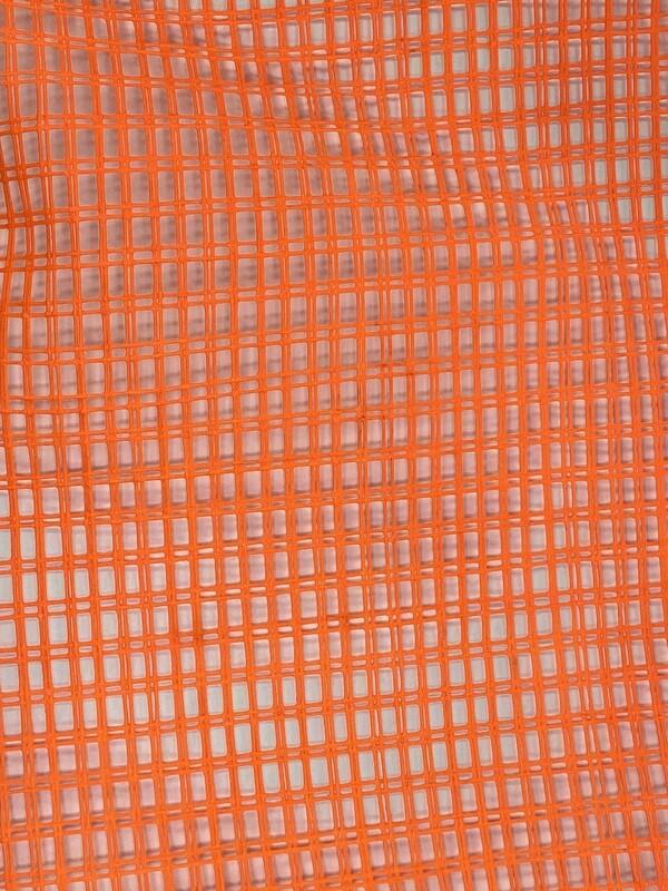 Orange Scaffold Netting