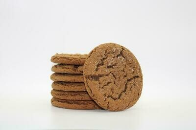 Molasses Cookies by the Dozen