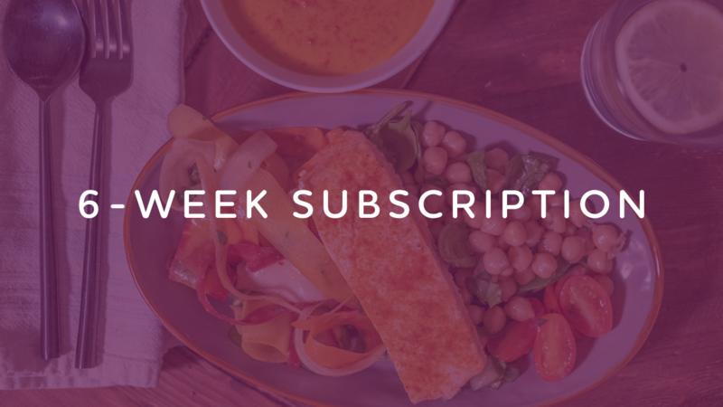6-Week Subscription