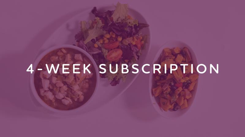 4-Week Subscription