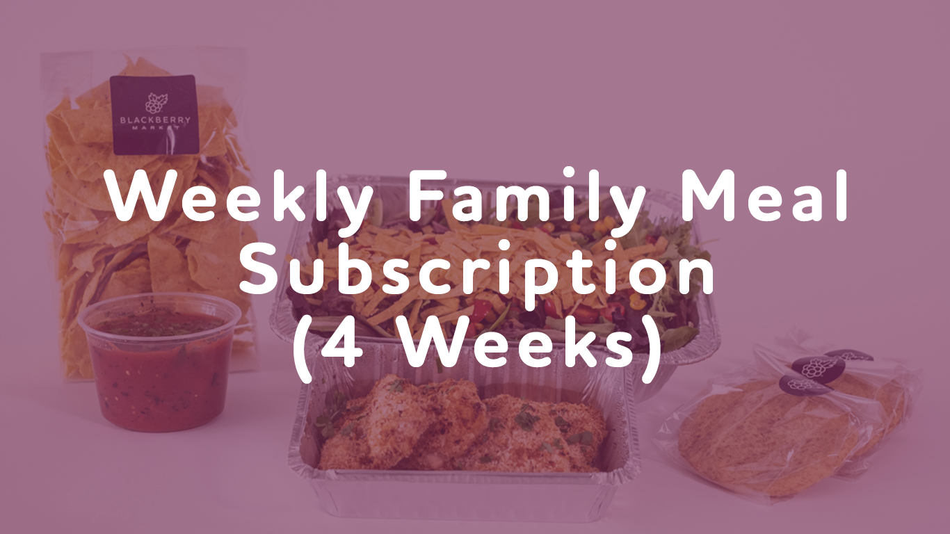 Weekly Meal Subscription (4 Meals)