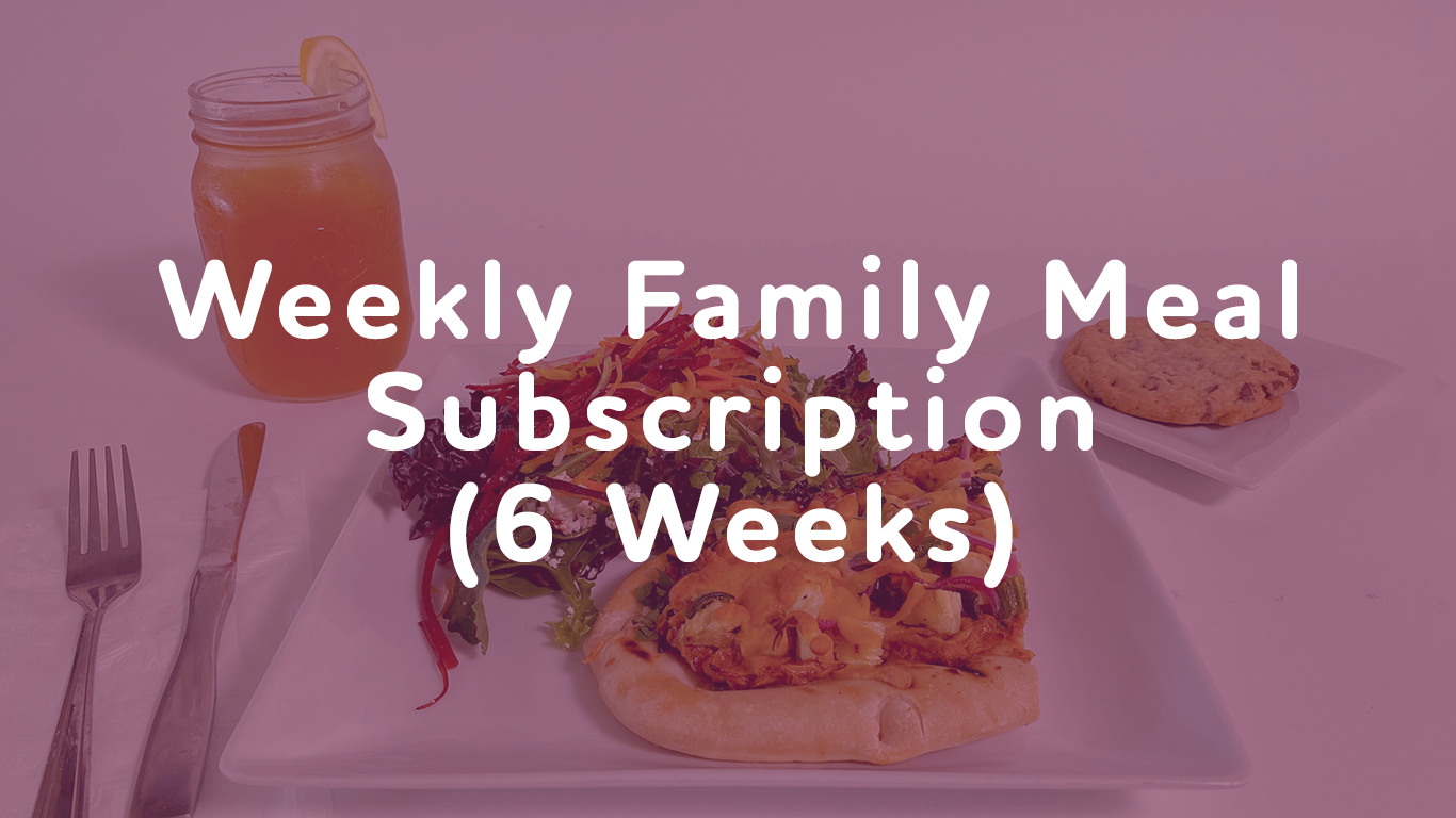 Weekly Meal Subscription (6 Meals)