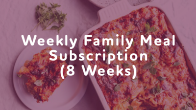 Weekly Meal Subscription (8 Meals)