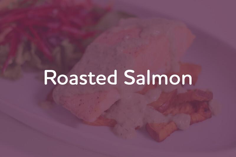 Mar 9: Roasted Salmon