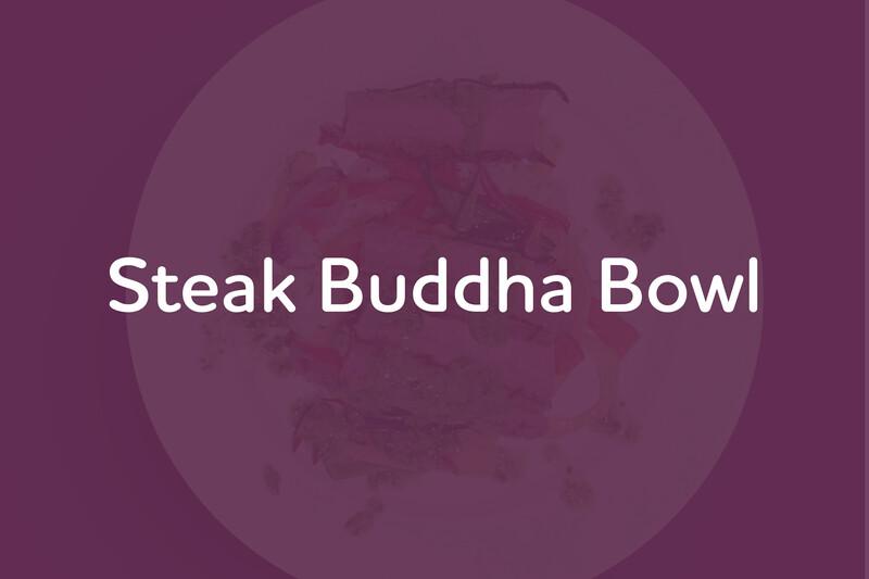 Mar 16: Steak Buddha Bowl