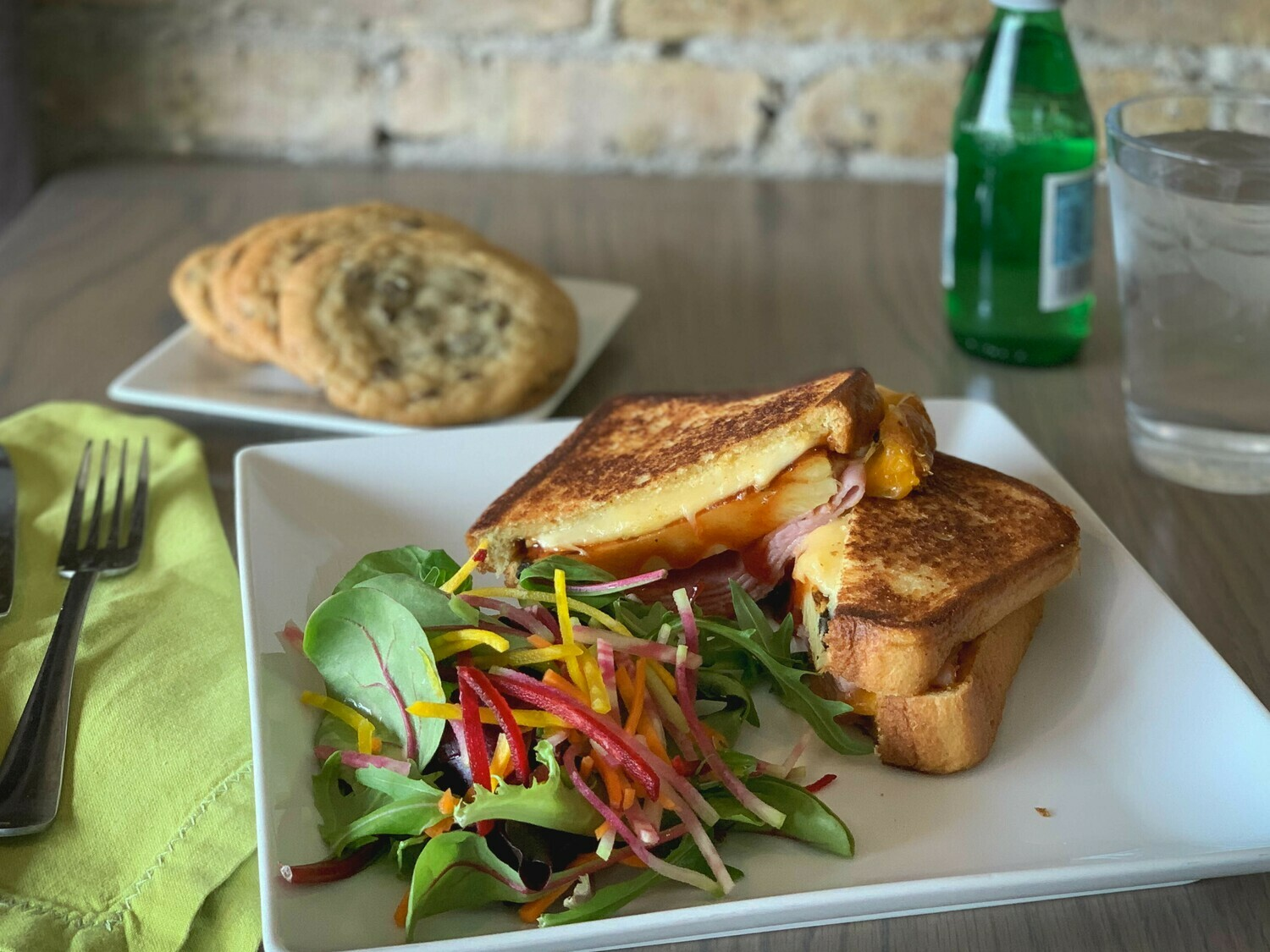 June 24: Pineapple and Ham Grilled Cheese Kits