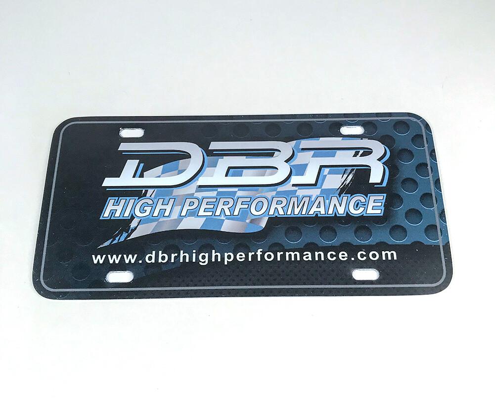 DBR -  License Plate Insert