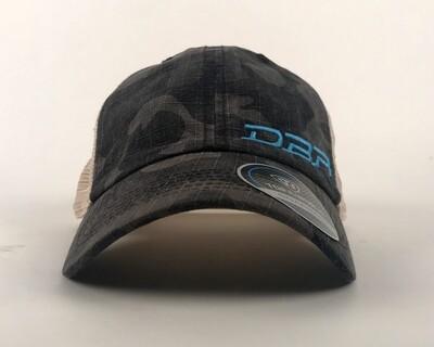 DBR - Black Camo Trucker Hat