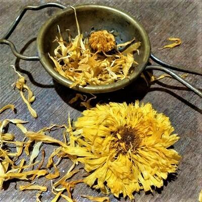 Calendula Flower Tea - Certified Organic - 50gr