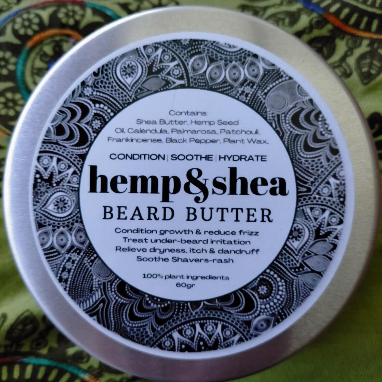 Hemp&Shea Beard Butter - 100gr - without comb