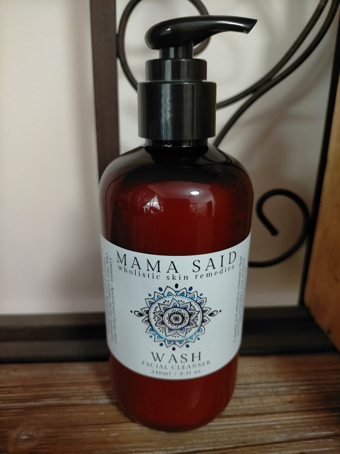Wash - Face Cleanser - 240ml